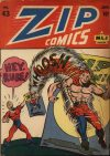 Cover For Zip Comics 43