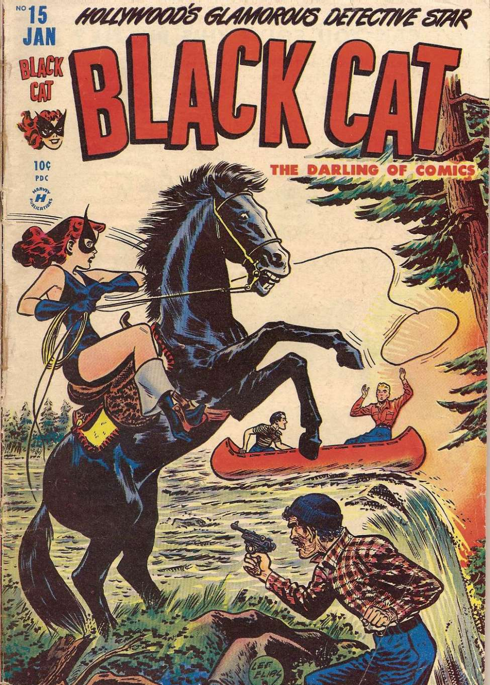 Comic Book Cover For Black Cat #15