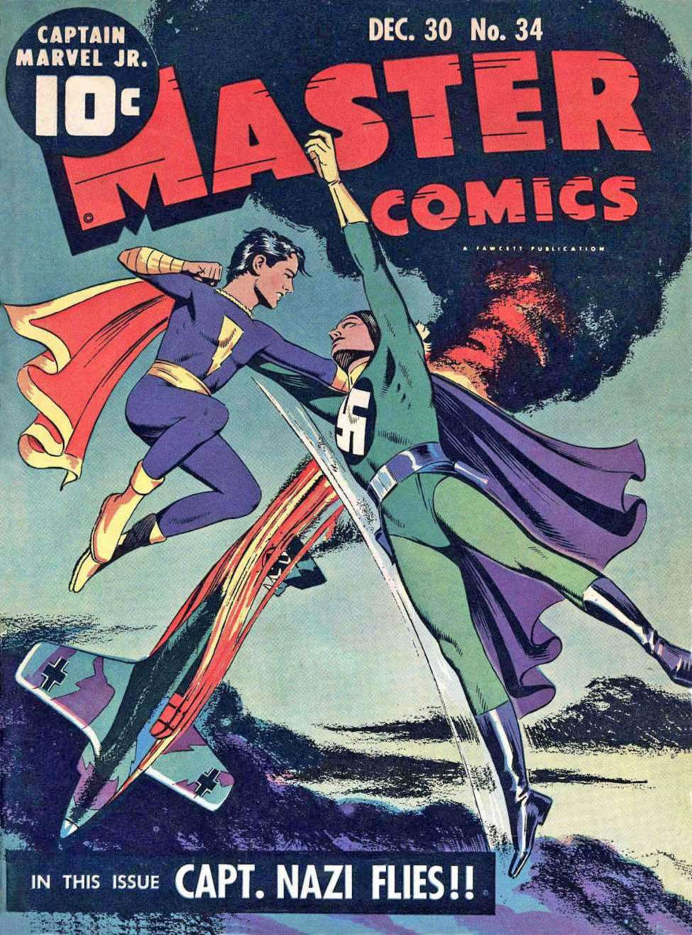 Comic Book Cover For Capt. Marvel Jnr Compilation Vol 03