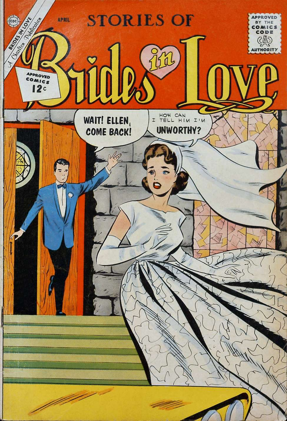 Comic Book Cover For Brides in Love #29