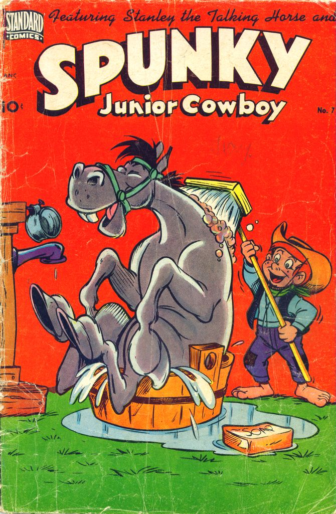 Comic Book Cover For Spunky #7