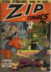 Cover For Zip Comics 14