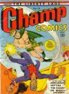 Cover For Champ Comics 14