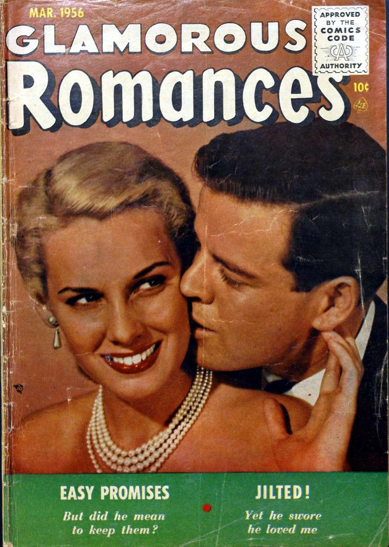 Comic Book Cover For Glamorous Romances #87