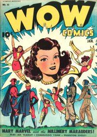 Large Thumbnail For Wow Comics #32