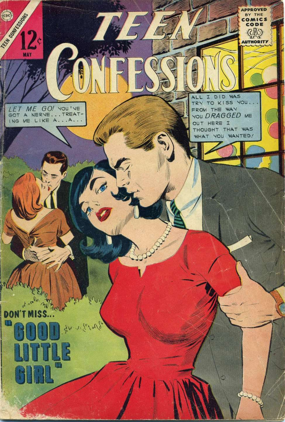 Comic Book Cover For Teen Confessions #28