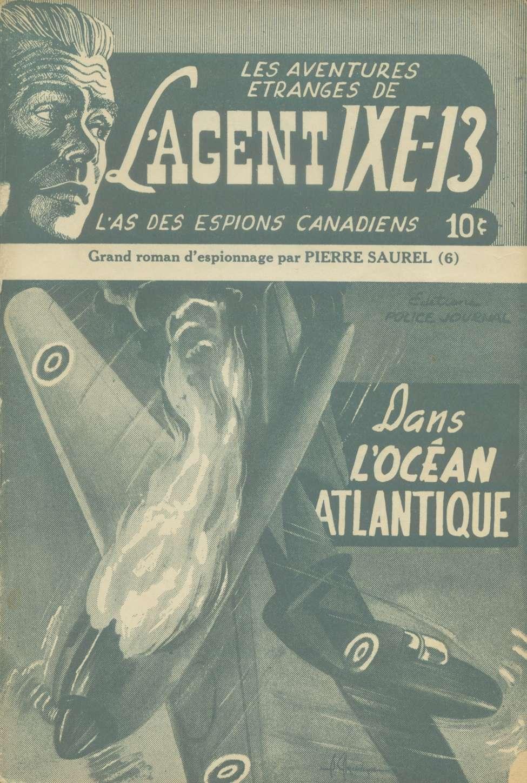 Comic Book Cover For L'Agent IXE-13 v2 006 – Dans l'océan atlantique