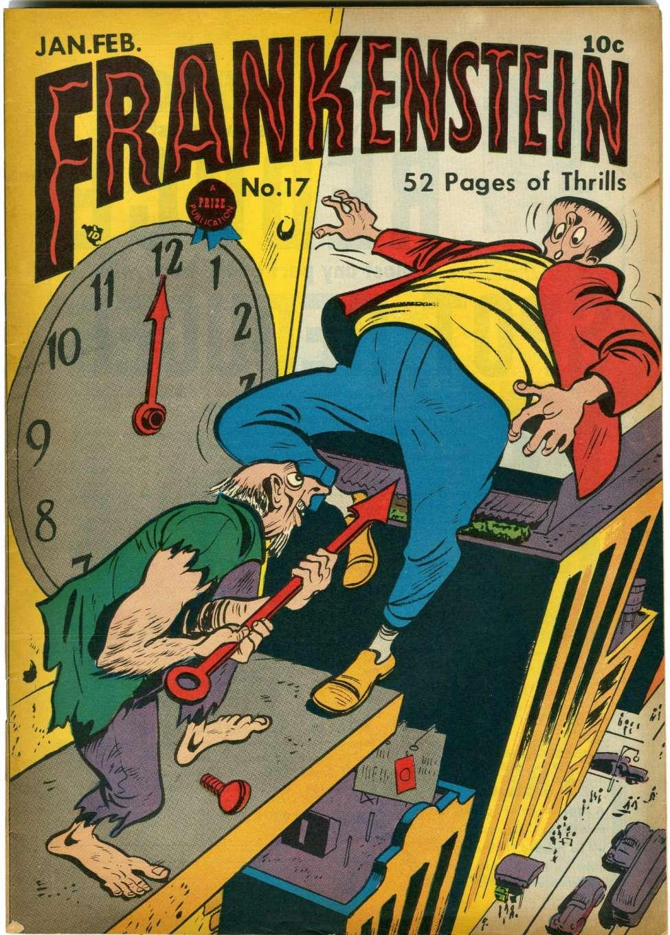 Comic Book Cover For Frankenstein v2 5 (17)