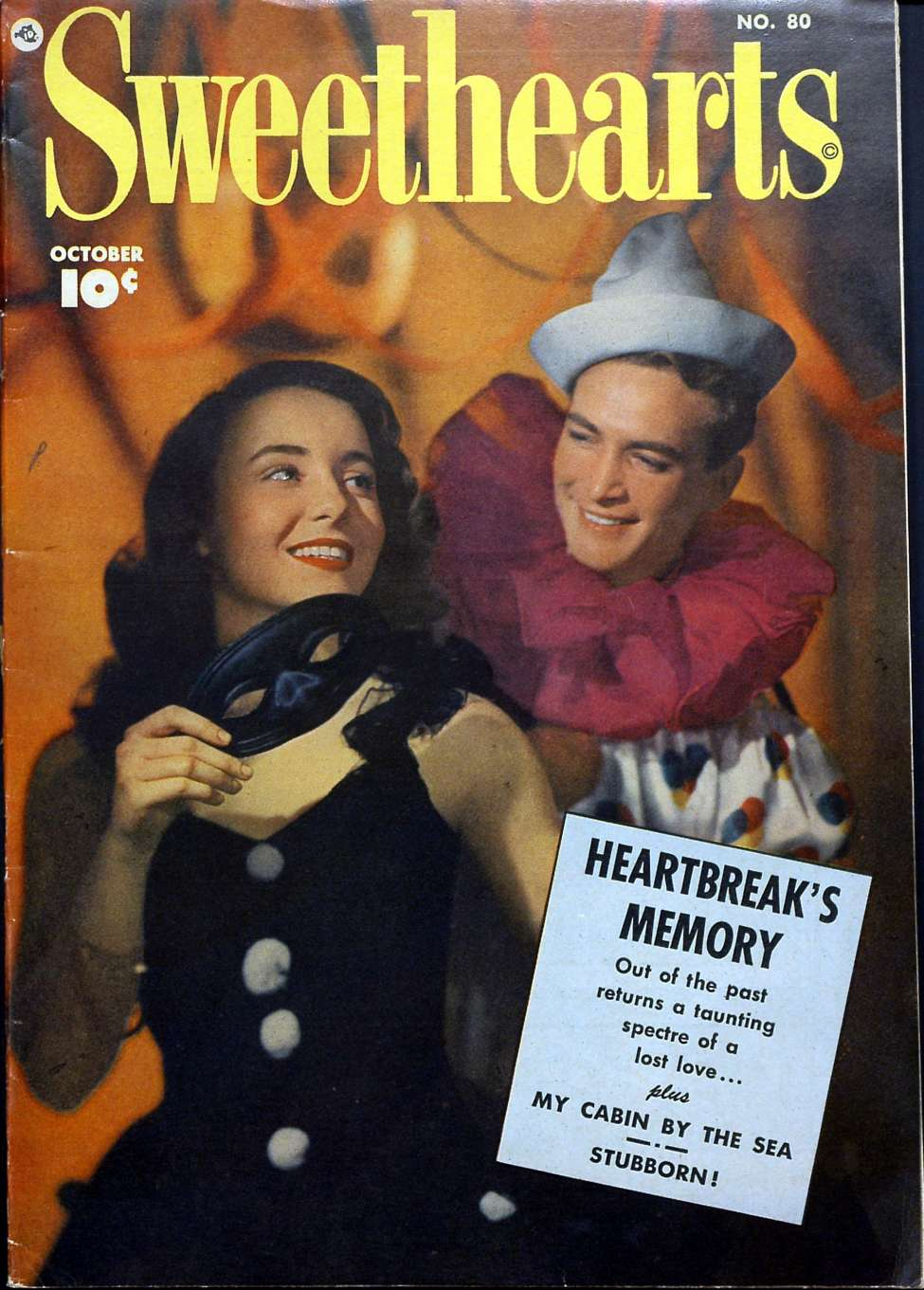Comic Book Cover For Sweethearts #80 - Version 2