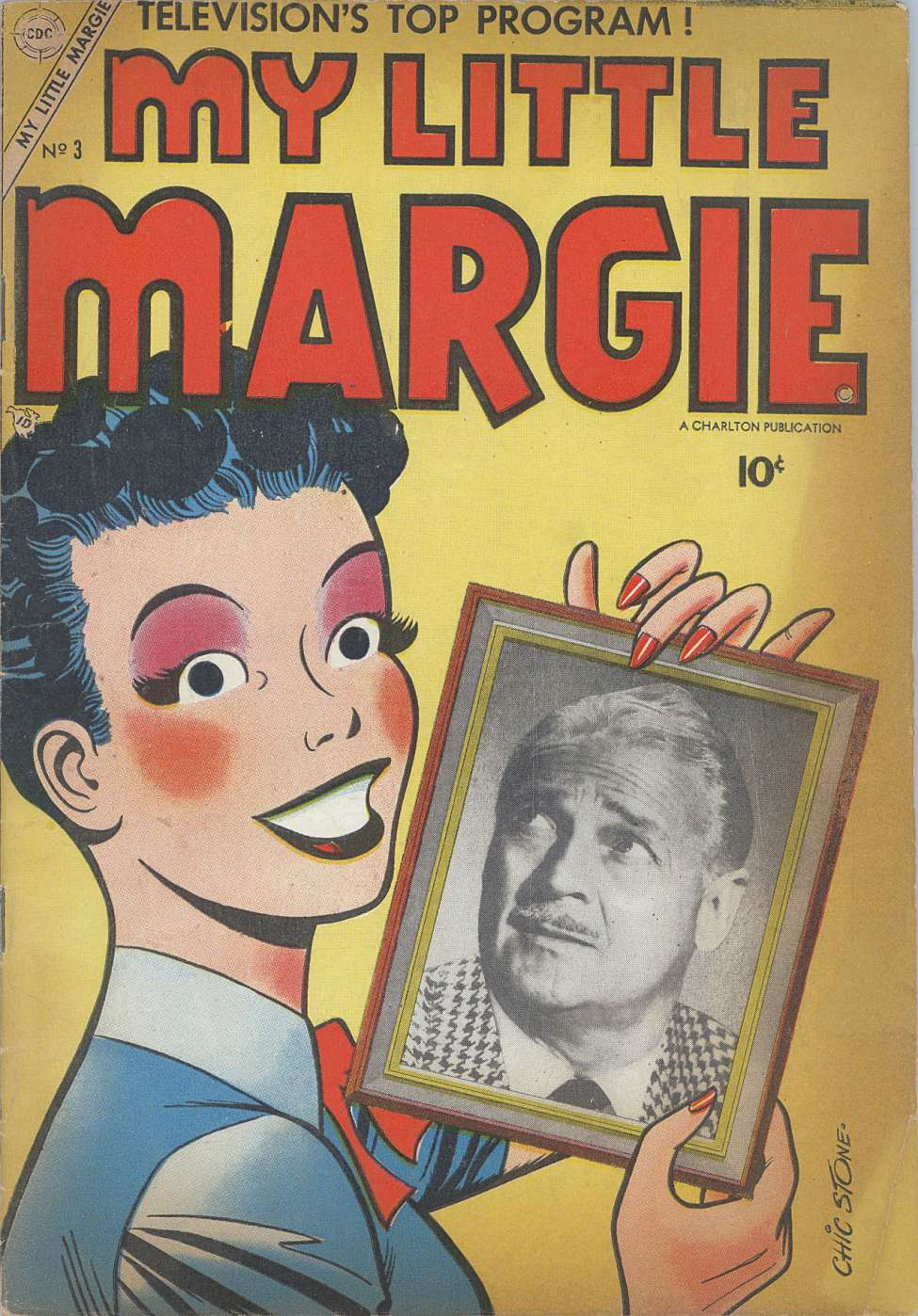 Comic Book Cover For My Little Margie #3