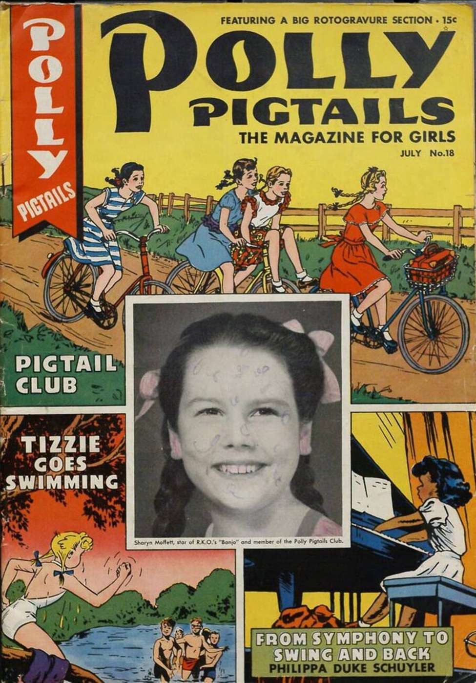 Comic Book Cover For Polly Pigtails #18