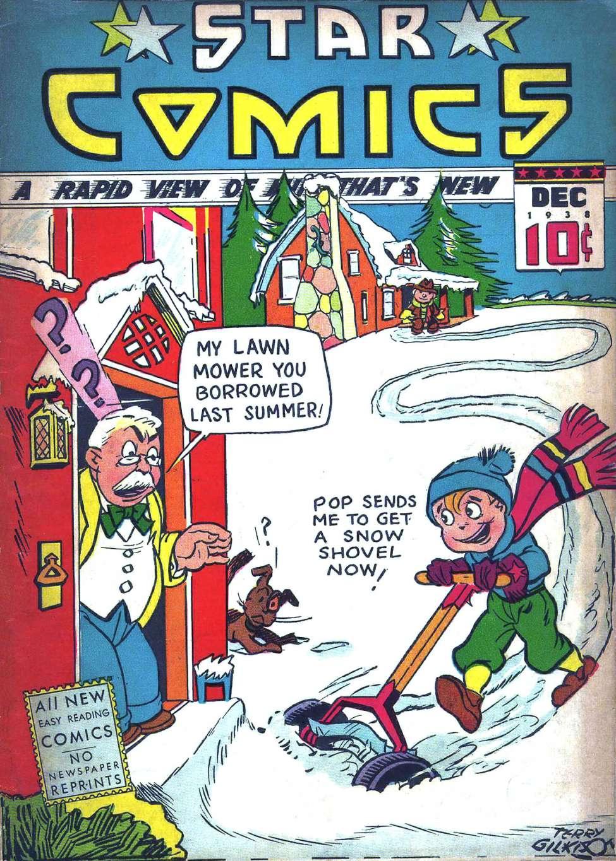 Comic Book Cover For Star Comics v1 #16