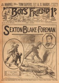 Large Thumbnail For The Boys' Friend 0487 - Sexton Blake: Foreman