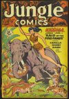 Cover For Jungle Comics 110