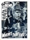 Cover For Boy's Cinema 1048 Where's That Fire? starring Will Hay