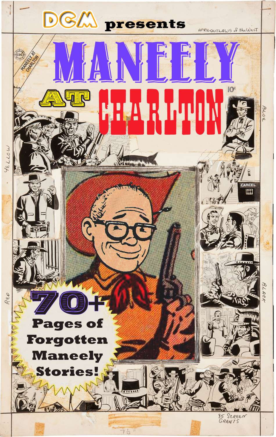 Comic Book Cover For Maneely at Charlton