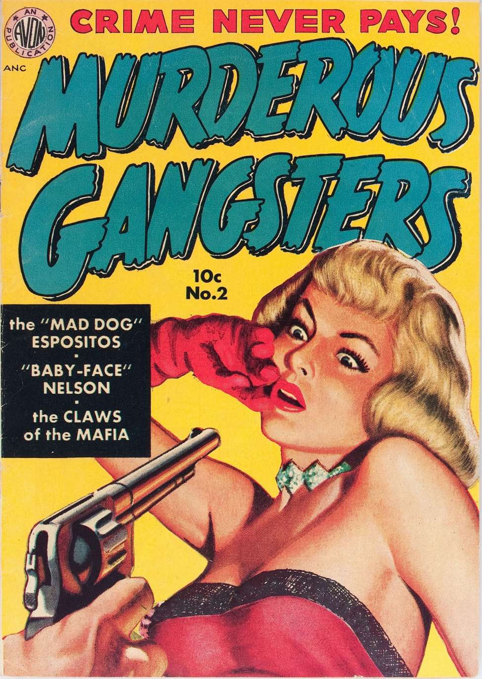 Comic Book Cover For Murderous Gangsters #2