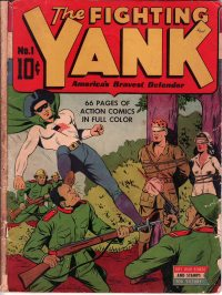 Large Thumbnail For The Fighting Yank #1