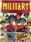 Cover For Military Comics 12 (paper/16fiche)