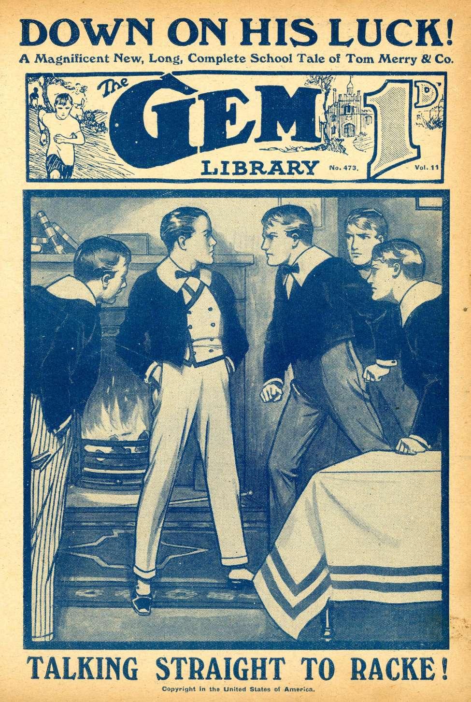 Comic Book Cover For The Gem v2 0473