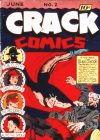 Cover For Crack Comics 2 (fiche)