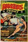 Cover For Rangers Comics 33
