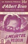 Cover For Albert Brien v2 3 Le Meurtre du Relieur