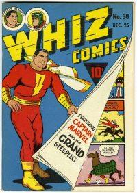 Large Thumbnail For Capt. Marvel Whiz Archives Vol 09
