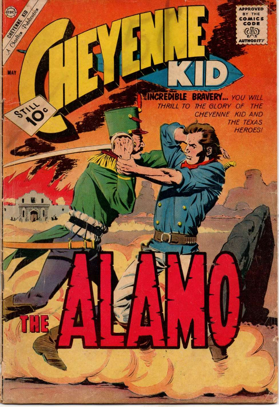 Comic Book Cover For Cheyenne Kid #28