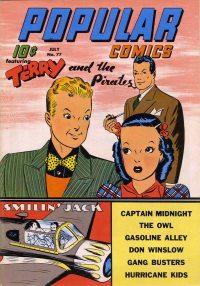 Large Thumbnail For Popular Comics #77