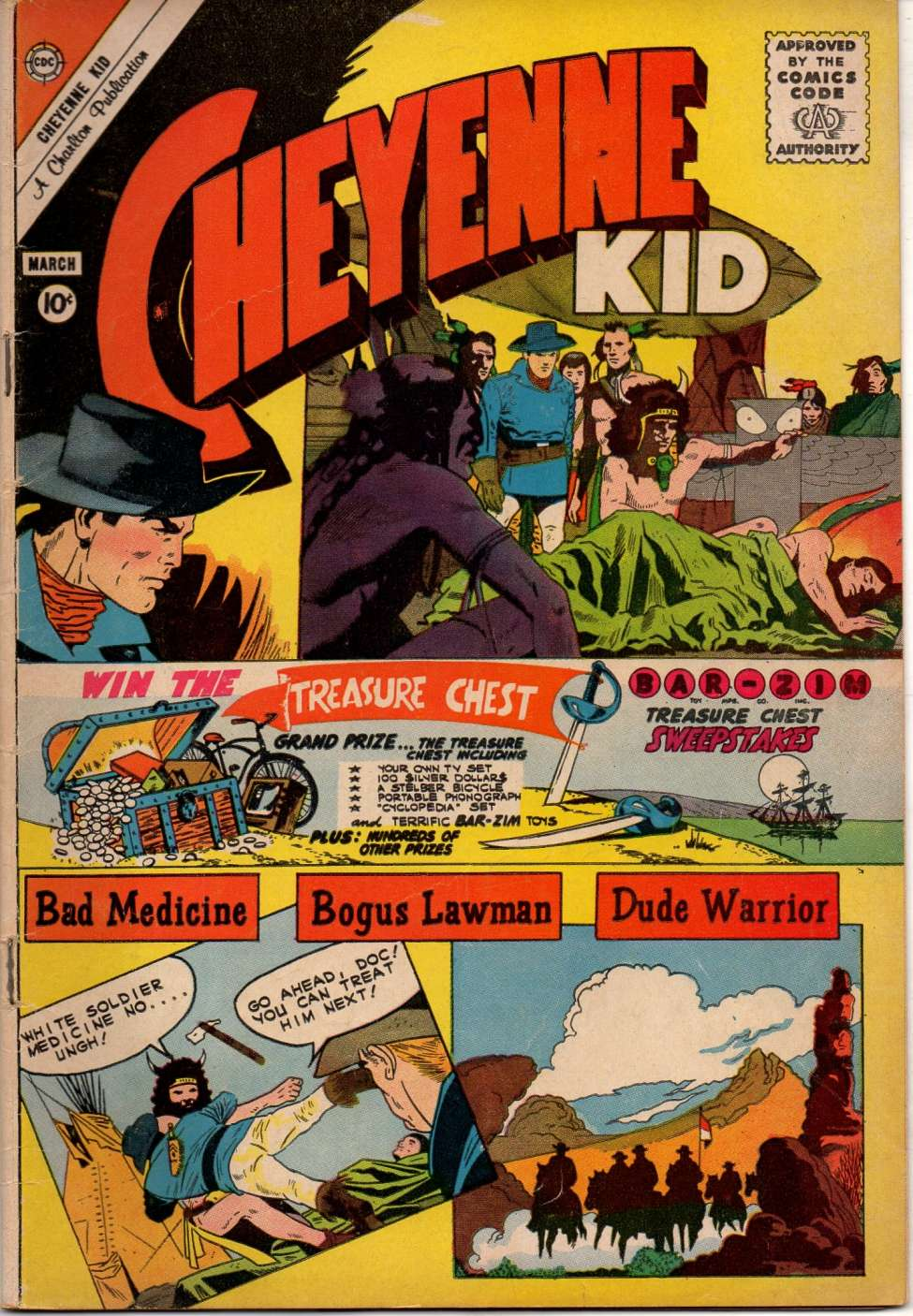 Comic Book Cover For Cheyenne Kid #27