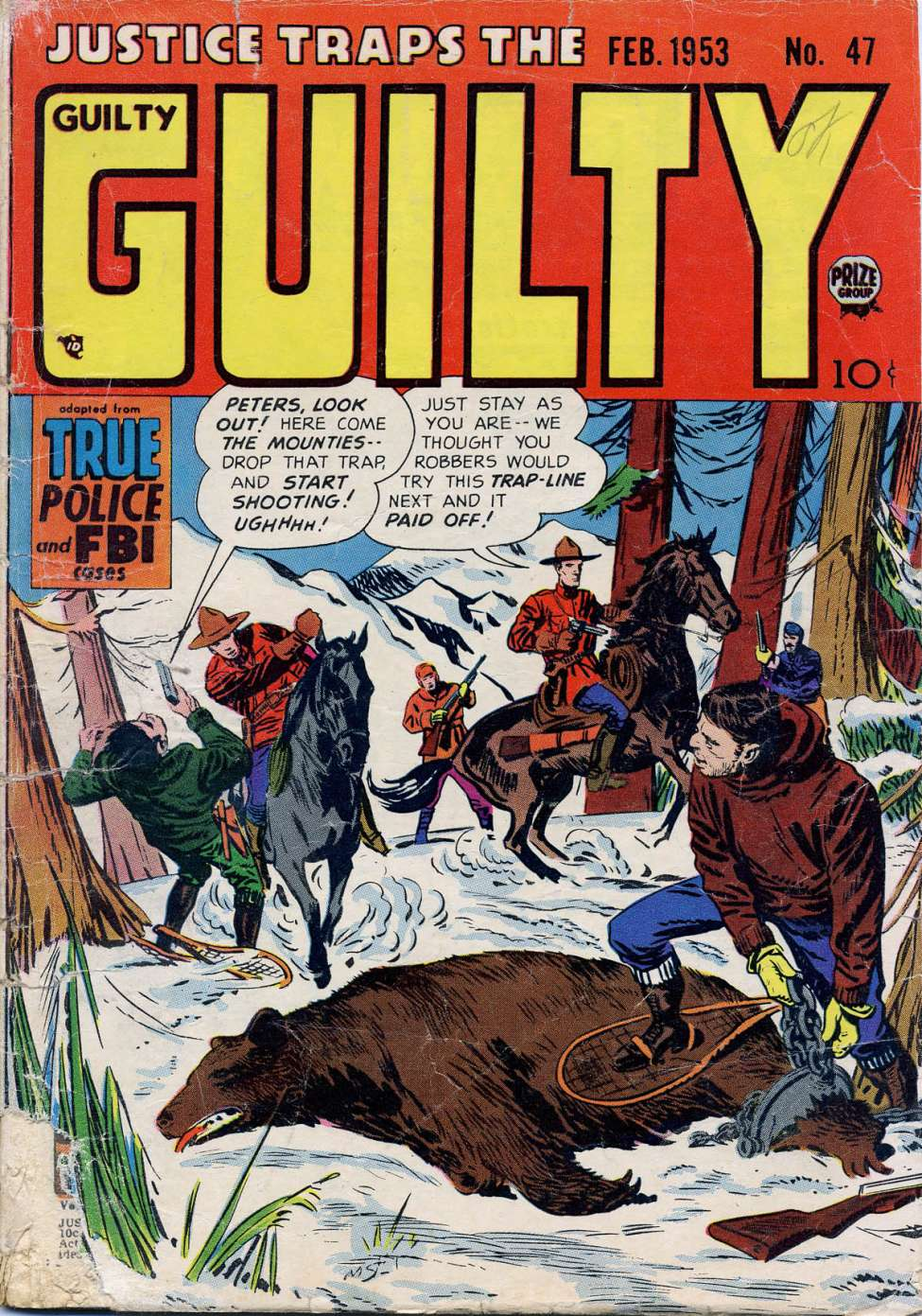 Comic Book Cover For Justice Traps the Guilty v6 5 (47)