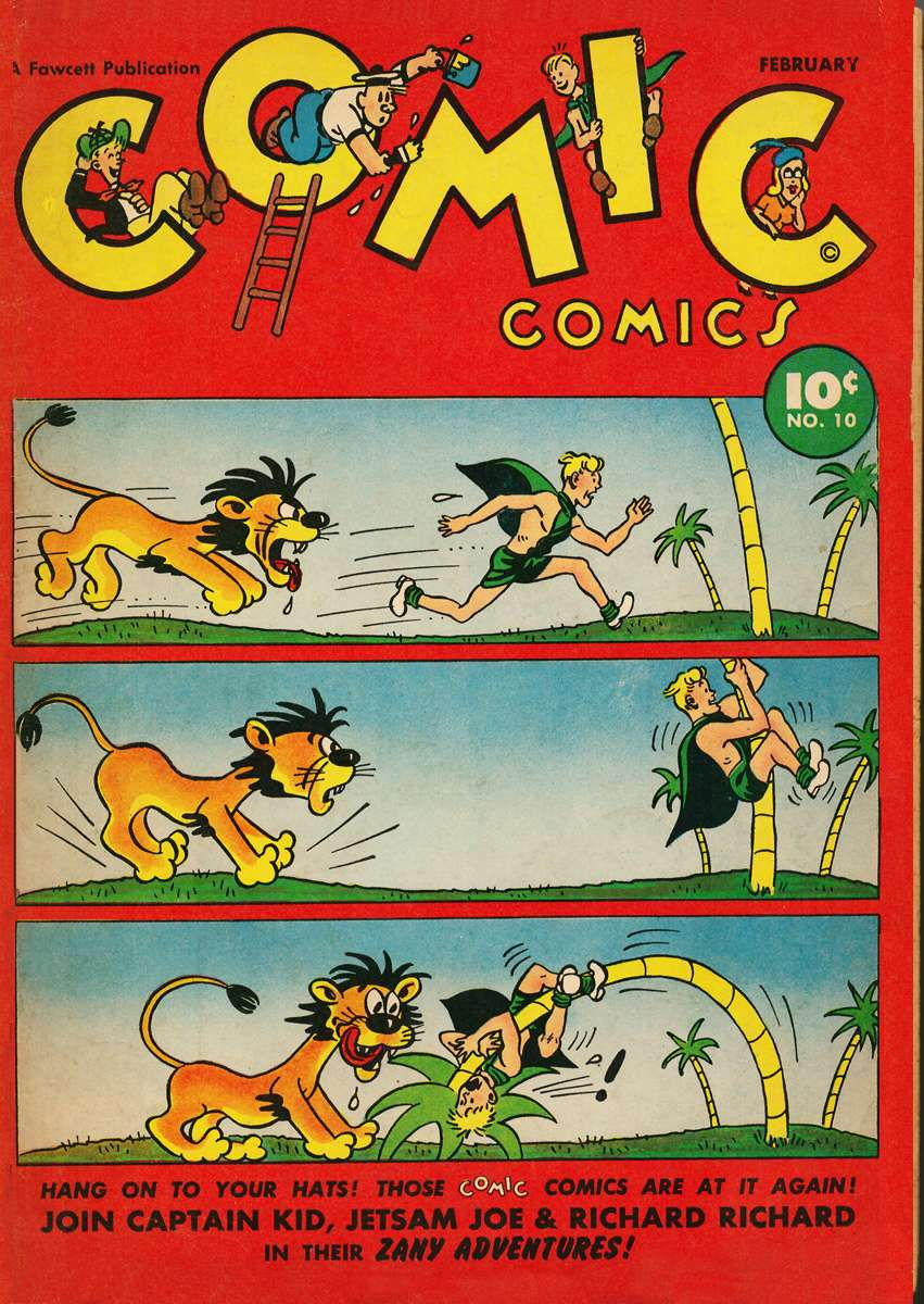 Comic Book Cover For Comic Comics #10