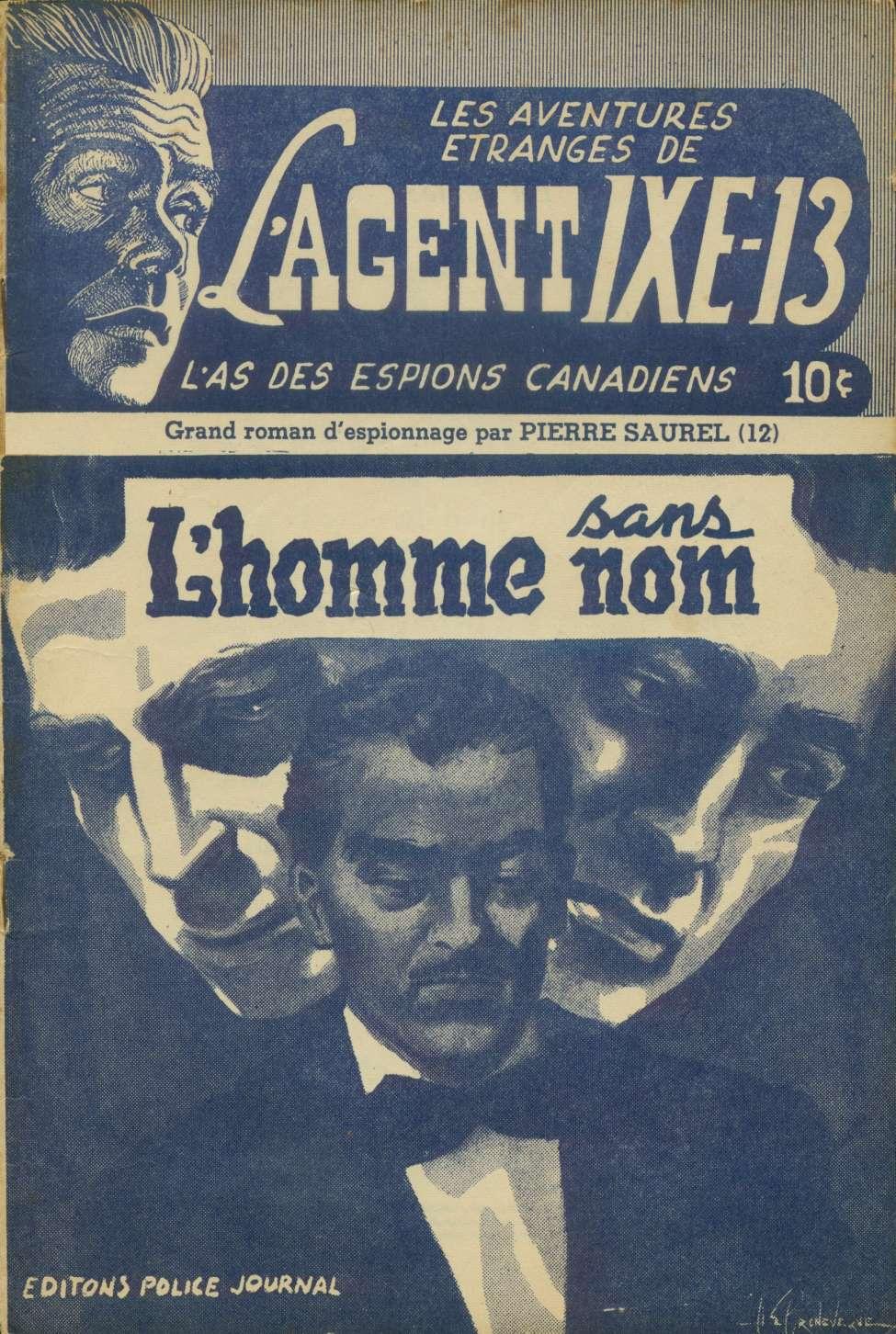Comic Book Cover For L'Agent IXE-13 v2 012 - L'homme sans nom