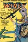 Cover For Wings Comics 49