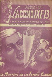 Large Thumbnail For L'Agent IXE-13 v2 020 - Le mystère de la femme blonde