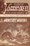 Cover For L'Agent IXE 13 v2 166 Les monstres marins