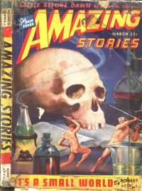 Large Thumbnail For Amazing Stories v18 02 - It's a Small World - Robert Bloch