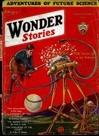 Large Thumbnail For Wonder Stories v3 09 - The Moon Era - Jack Williamson