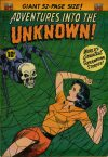 Cover For Adventures into the Unknown 33
