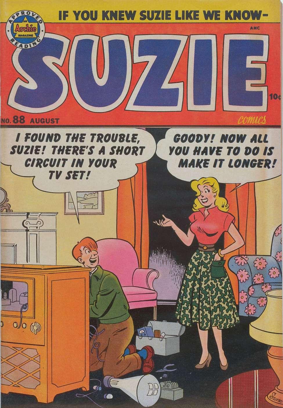 Comic Book Cover For Suzie Comics #88