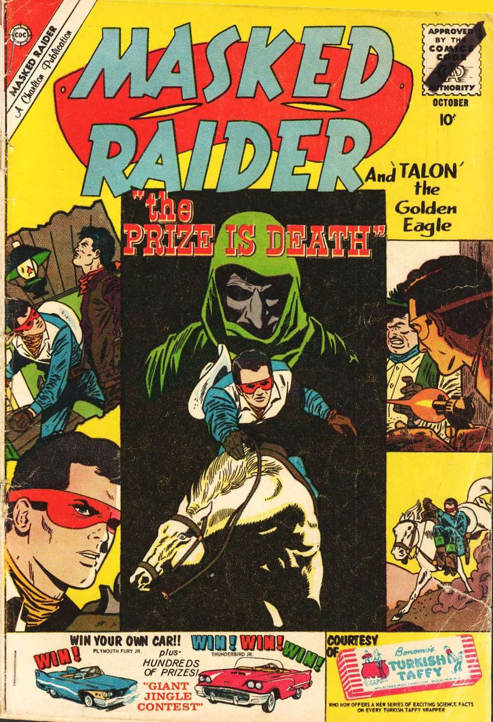 Comic Book Cover For Masked Raider #26