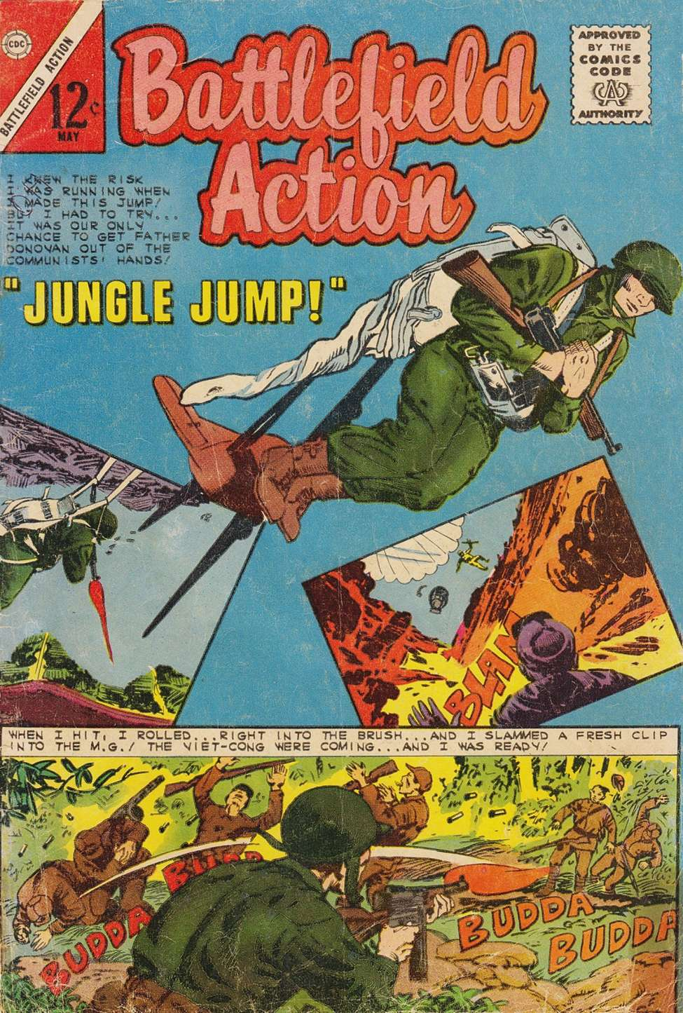Comic Book Cover For Battlefield Action #47