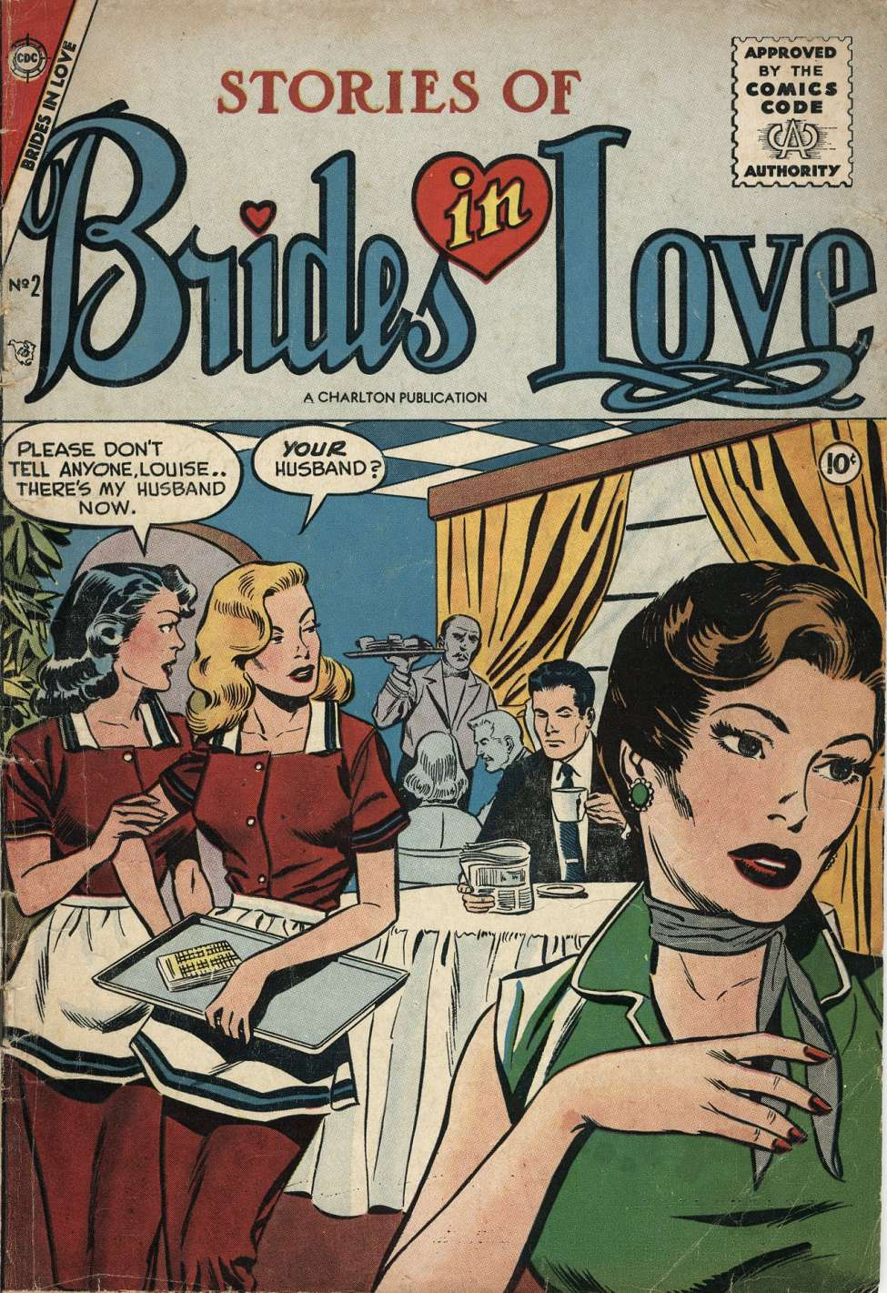 Comic Book Cover For Brides in Love #2