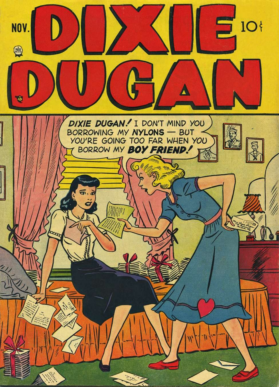 Comic Book Cover For Dixie Dugan v3 4