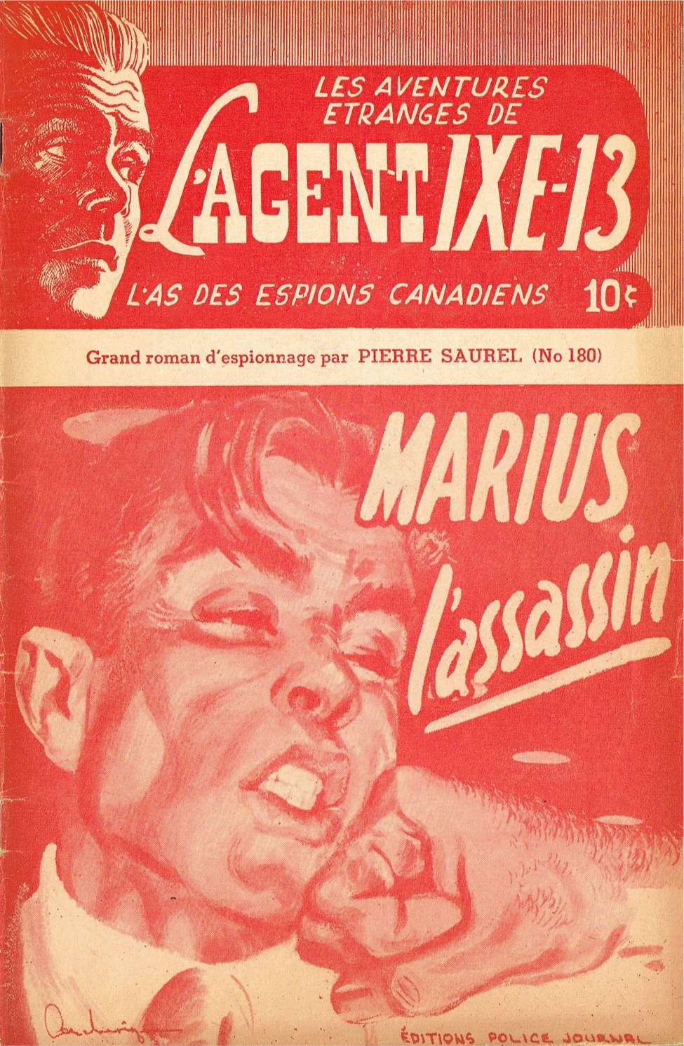 Comic Book Cover For L'Agent IXE-13 v2 180 - Marius l'assassin