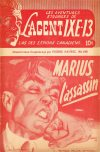 Cover For L'Agent IXE 13 v2 180 Marius l'assassin