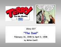 Large Thumbnail For Terry and the Pirates 17 C a) The Duel