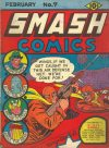 Cover For Smash Comics 7