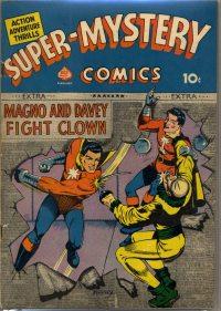 Large Thumbnail For Super-Mystery Comics v1 #6